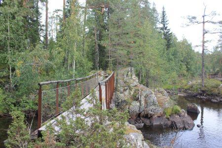 Hamraleden vanaf Svartåentrén