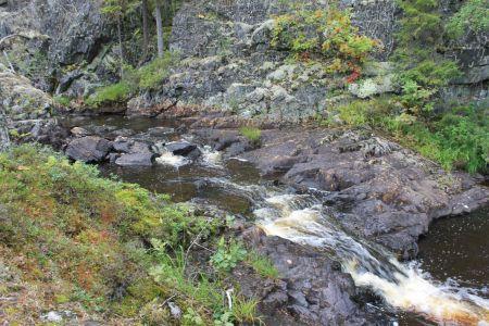 Af en toe watervalletjes