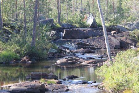 de Svartån rivier