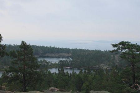 Uitzicht vanaf Slåttdallsberget
