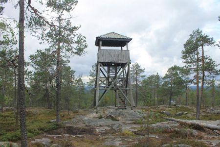 Vaattunkivaara uitkijktoren