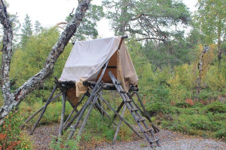 Een moderne Sámi tent
