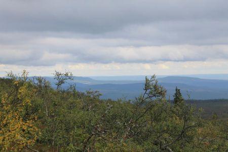 De bergen van Härjedalen