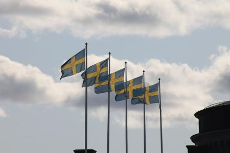De Zweedse vlag