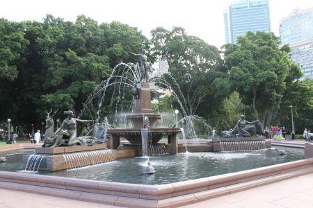 Een van de zoveel fonteinen