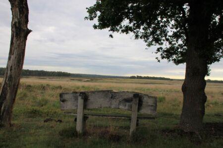 Genieten van de rust en het uitzicht