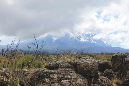 Mount Kili slaapt