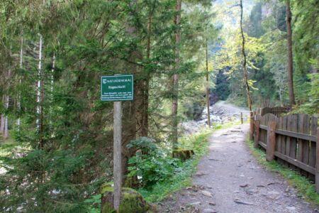 Naturdenkmal Raggaschlucht