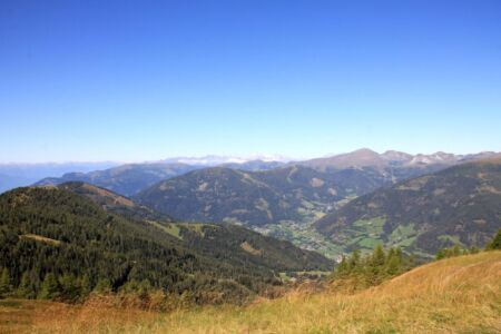 Bad Kleinkirchheim ligt in het dal