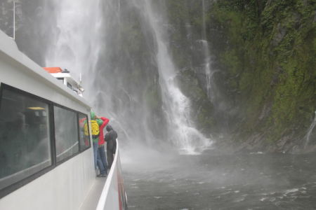 Onder de Stirling Falls