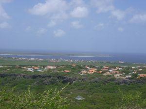 Uitzicht op Klein Bonaire vanaf Seru Largu