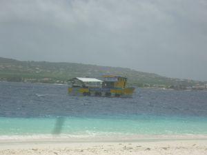 Boot naar Klein Bonaire