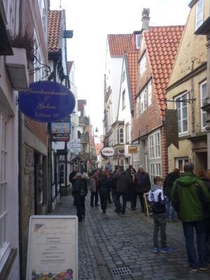 Historische straatjes Schnoor