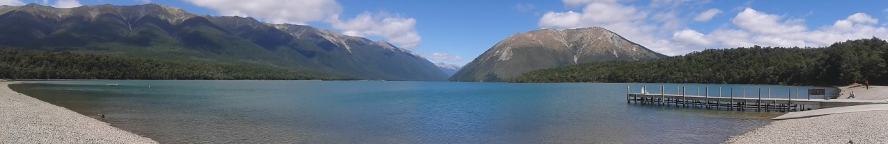 Panorama Lake Rotoiti