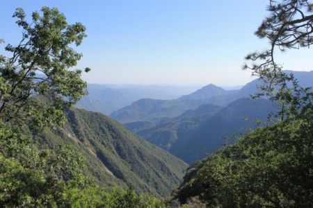 Prachtig Uitzicht In Kings Canyon