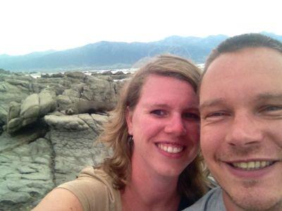 Selfie met een zeeleeuw