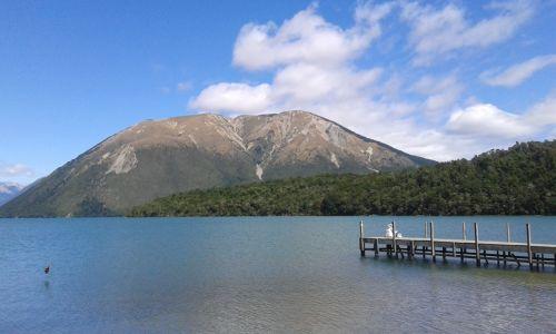 Steiger op Lake Rotoiti