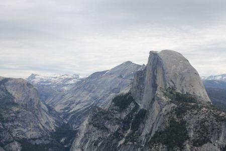 Uitzicht vanaf Glacier Point