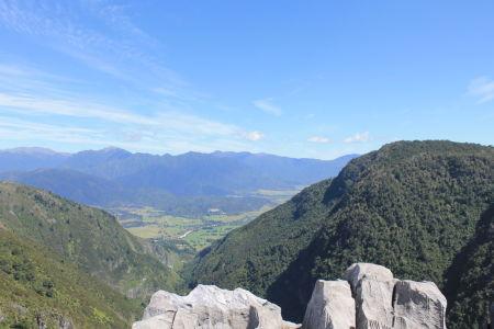 Uitzicht vanaf Gorge Creek Lookout