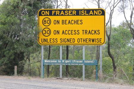 Welkom op Fraser Island